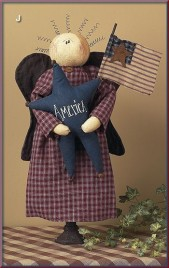 13274-America Primitive Angel Doll