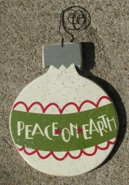 H0-5229 Peace on Earth Bulb