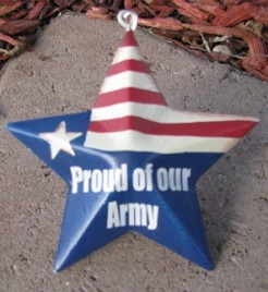 OR223 - Proud of our Army - Metal Star