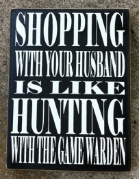 Primitive Wood Box Sign PD61025 - Game Warden