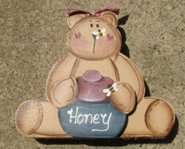 12HBB  Honey Bear Blue