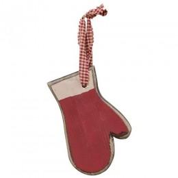 Christmas Wood Ornament G33403 Mitten