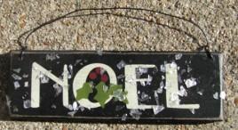 GH5166N - Noel wood sign