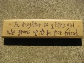 m9904a-A daughter is a little girl,who grows up to be your friend