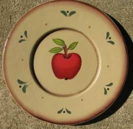 RPM1 - Apple Wood Plate