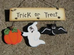 Halloween Decor WD1328 - Trick or Treat