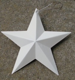 WD1346 - White Metal Star